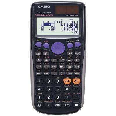 Casio-fx-300ES-PLUS-Scientific-Calculator,-Black