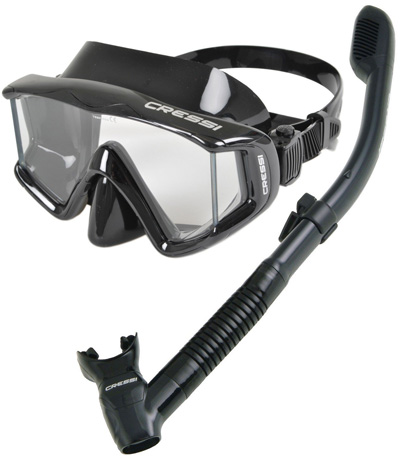 Cressi-Panoramic-Wide-View-Mask-Dry-Snorkel