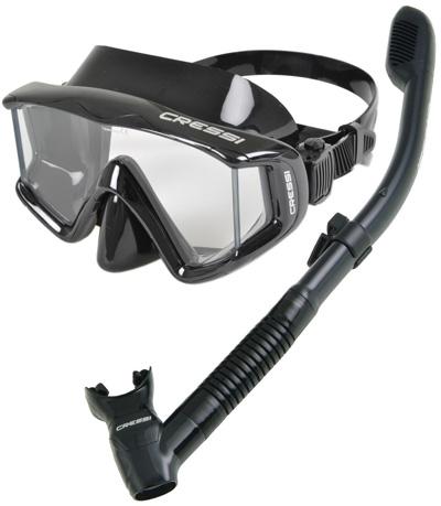 Cressi-Panoramic-Wide-View-Mask-Dry-Snorkel