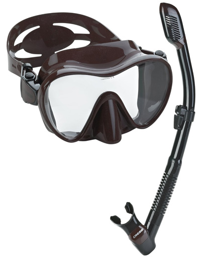 Cressi-Scuba-Diving-Snorkeling-Freediving-Mask-Snorkel-Set
