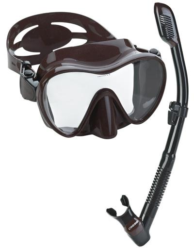 Cressi-Scuba-Diving-Snorkeling-Freediving-Mask-Snorkel-Set