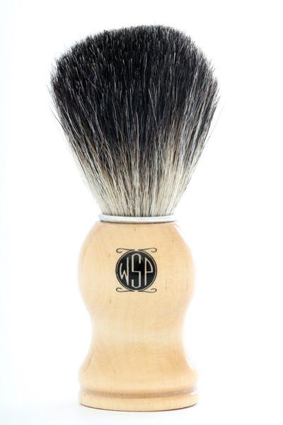 High-Density-100-Pure-Black-Badger-Shaving-Brush-with-Wood-Handle