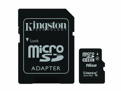Kingston-Digital-16-GB-Class-4