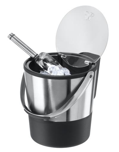 Oggi-Double-Wall-Ice-Bucket-with-Flip-Lid-and-Stainless-Ice-Scoop