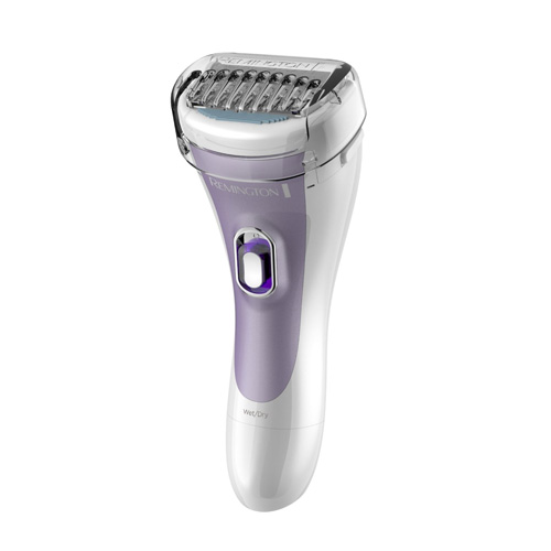 Remington-WDF4840-Women's-Smooth-and-Silky-Foil-Shaver,-Purple
