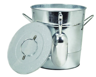 TWINE-Galvanized-Steel-Ice-Bucket