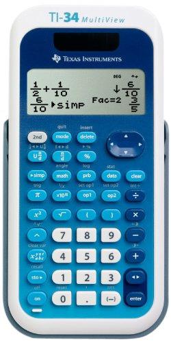 Texas-Instruments-TI-34-MultiView-Scientific-Calculator