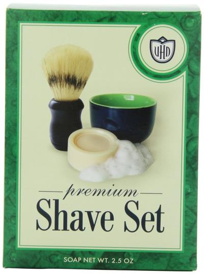 Van-Der-Hagen-Premium-Shave-Set-(2.5-oz.-Soap,-Bowl,-Brush)