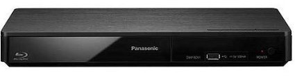 5. Panasonic DMP-BD901 Compact Blu-ray Disc Player with Wi-Fi and USB input
