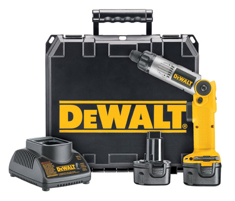 3. DeWalt ¼ Inch 7.2 Volt Cordless Two-Position Screwdriver Kit