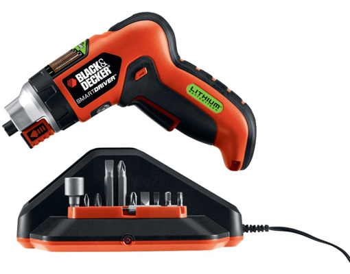 5. Black & Decker Screwdriver with SmartSelect and 3.6 Lithium Ion Battery