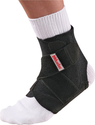 8. Adjustable Ankle Stabilizer by Mueller