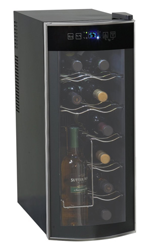 1. Avanti 12 Bottle Thermoelectric Counter Top Wine Cooler