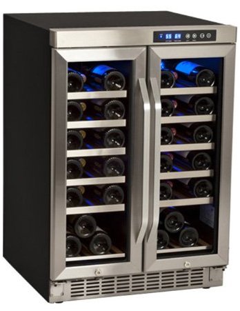10. 36-Bottle EdgeStar Built-In Dual-Zone French-Door Wine Refrigerator