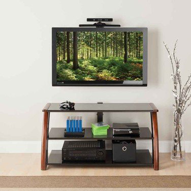 8. 3-in-1 Whalen Gaming Theater TV Console by Golden Oak