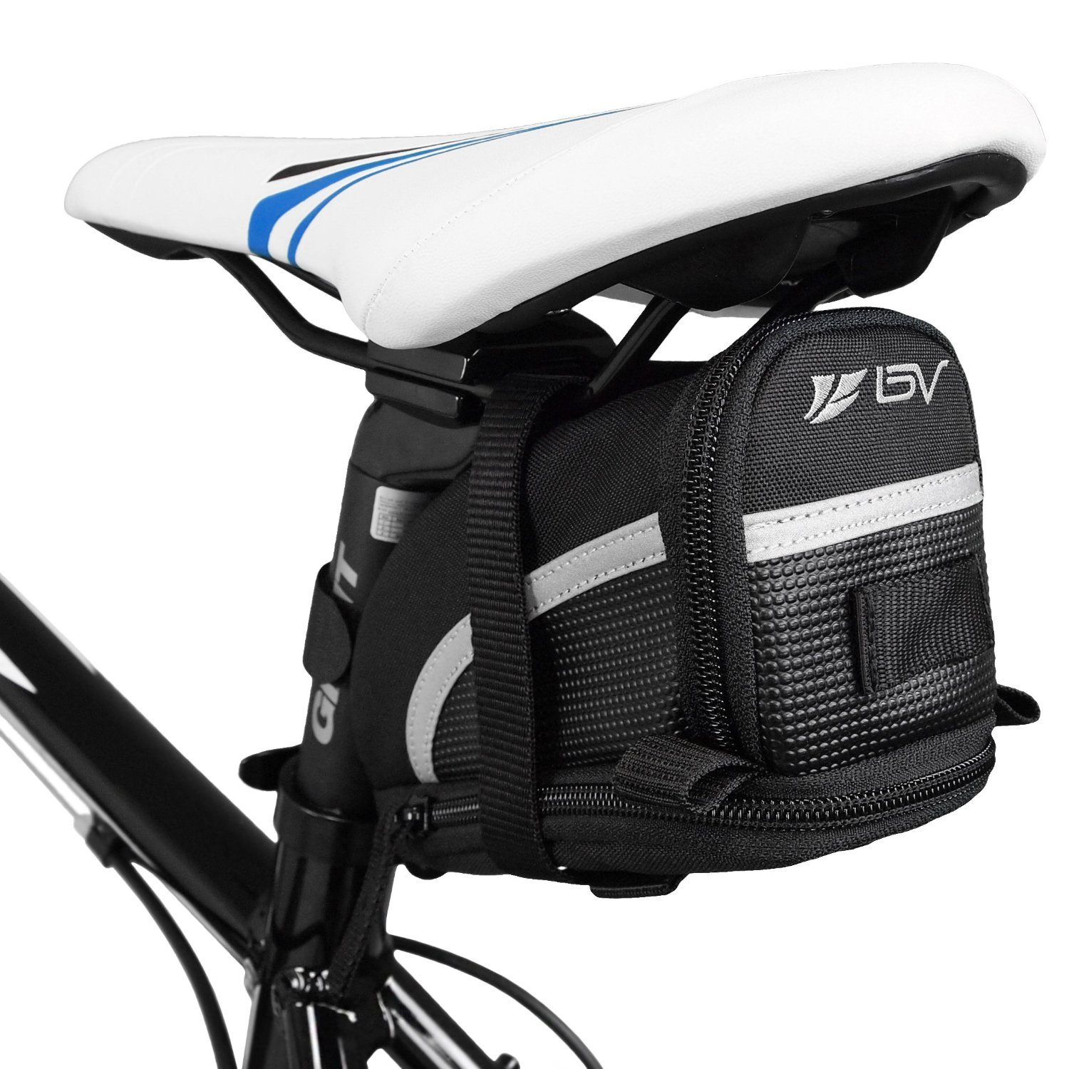 2. Bicycle Strap-Pm Seat Bag/Saddle Bag by BV
