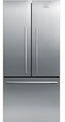 1. 17 cu. Ft. French Door Stainless Steel Refrigerator by Fisher Paykel