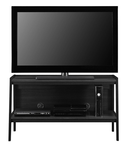 10. Ladder TV Stand in a Black Finish by Altra Furniture
