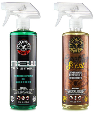 4. New Car Scent and Leather Scent Combo by Chemical Guys