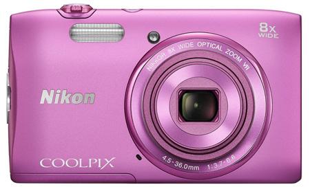 2. Nikon COOLPIX S3600 20.1 MP Digital Camera