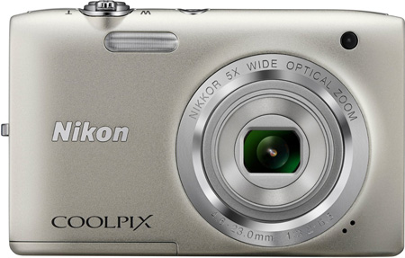 7. Nikon Coolpix S2800 20.1 MP Point and Shoot Digital Camera