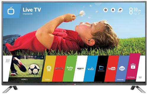 4. LG Electronics 50LB6300 50-Inch 1080p 120Hz Smart LED TV