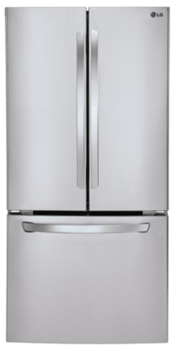 5. 23.6 Cu. Ft. Stainless Steel French Door Refrigerator from LG