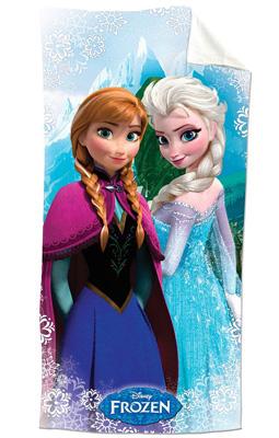 9. Disney Frozen Snowflake 100% Cotton Beach Towel