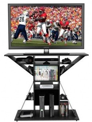 4. TV Video Gaming Storage Rack Hub by Atlantic