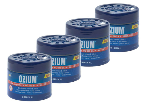 6. Smoke and Odors Eliminator Gel 4 Pack from Ozium