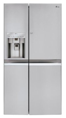 2. Side-by-Side Counter Depth 21.6 cu. Ft. Refrigerator by LG