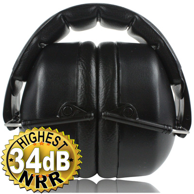 2. Safety Ear Muffs 34 dB by ClearArmor