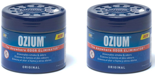 8. Smoke and Odors Eliminator Gel 2 Pack from Ozium