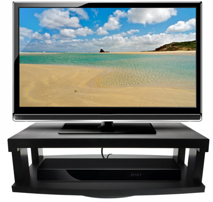 7. Heavy Duty Flat LCD/LED TV 2-Tier Swivel Stand by Aleratec