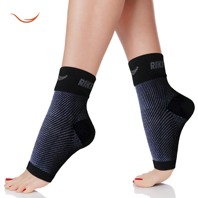 10. Plantar Fasciitis Foot Sleeves by Rikedom Sports