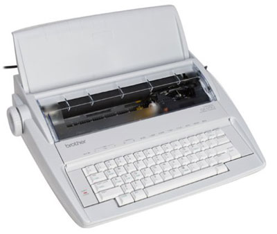 2. Brother GX-6750 Daisy Wheel Electronic Typewriter