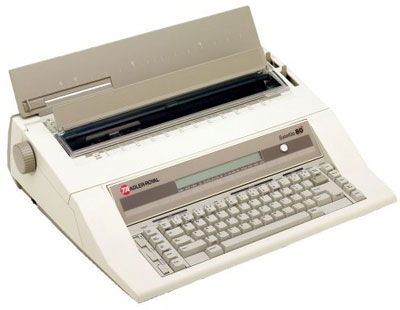 4. Adler-Royal Satellite 80 Electronic Office Typewriter