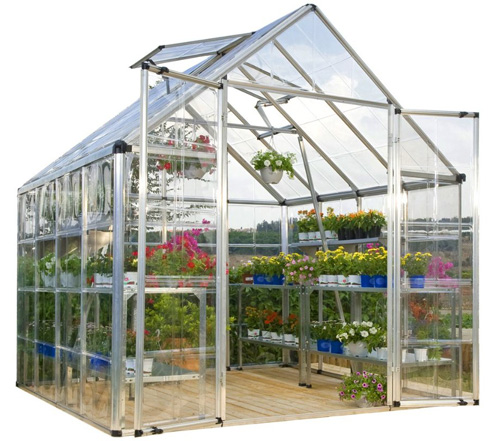 2. Palram Snap & Grow 8' Series Hobby Greenhouse