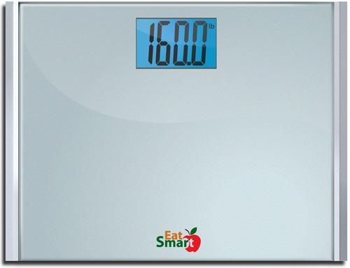 2. EatSmart Precision Plus Digital Bathroom Scale W/Ultra-Wide Platform