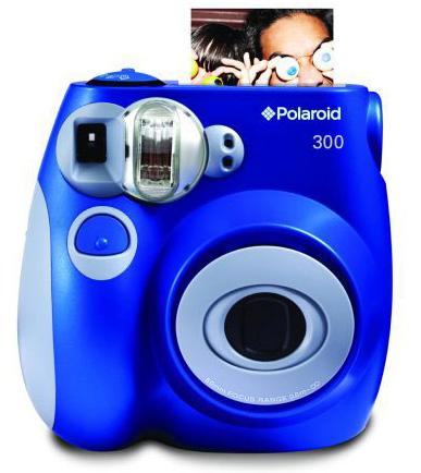 10. Polaroid 300 Instant Camera PIC-300L (Old Model) Blue