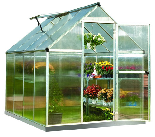 4. Palram Nature Series Mythos Hobby Greenhouse