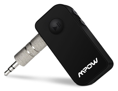 3. Mpow Portable Bluetooth 3.0 Receiver A2DP Wireless Adapter
