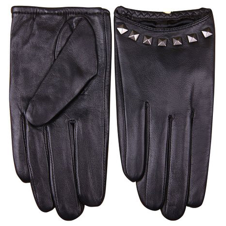 5. Warmens, Punk Rock Women's Genuine Soft Leather Driving Performance Gloves