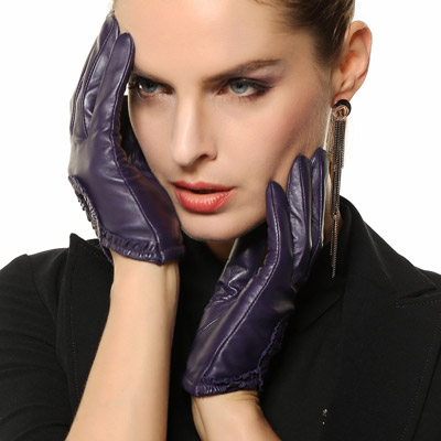 3. Warmens, Sexy Women's Genuine Nappa Leather Wrist Driving Unlined Gloves