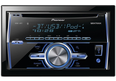 10. Pioneer In-Dash Double DIN Car Stereo Receiver with Bluetooth, FH-X700BT