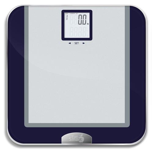 6. EatSmart Precision Tracker Digital Bathroom Scale