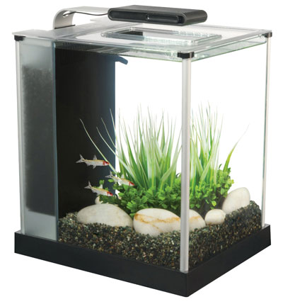 2. Fluval Spec III Aquarium Kit, 2.6-Gallon