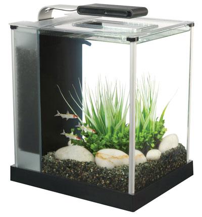 2. Fluval Spec III Aquarium Kit, 2.6-Gallon