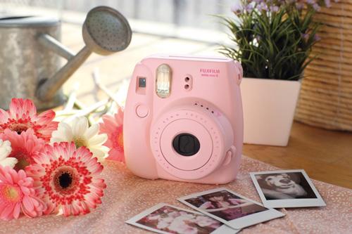 7. Fujifilm Instax Mini 8 Instant Film Camera (Pink)