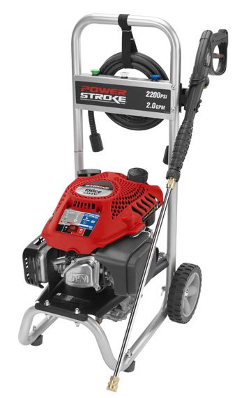 6. Powerstroke PS80519 2200 psi Gas Pressure Washer